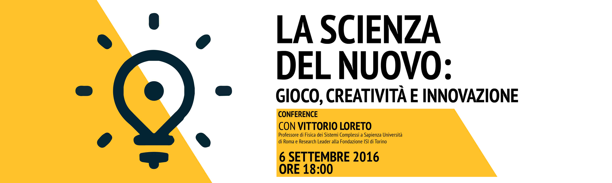 La scienza del nuovo - Como Lake School
